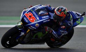 MotoGp, Gp Argentina prove libere: Vinales ancora primo, Valentino Rossi male