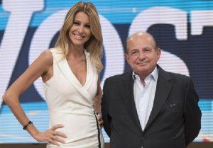 Giancarlo Magalli chiese scusa a Adriana Volpe, lei accetta con riserva