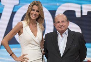 Adriana Volpe e Giancarlo Magalli (foto Ansa)