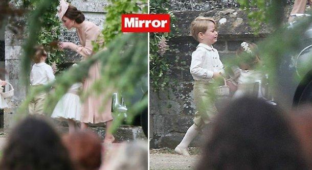 Kate Middleton sgrida il principino George: lui... FOTO