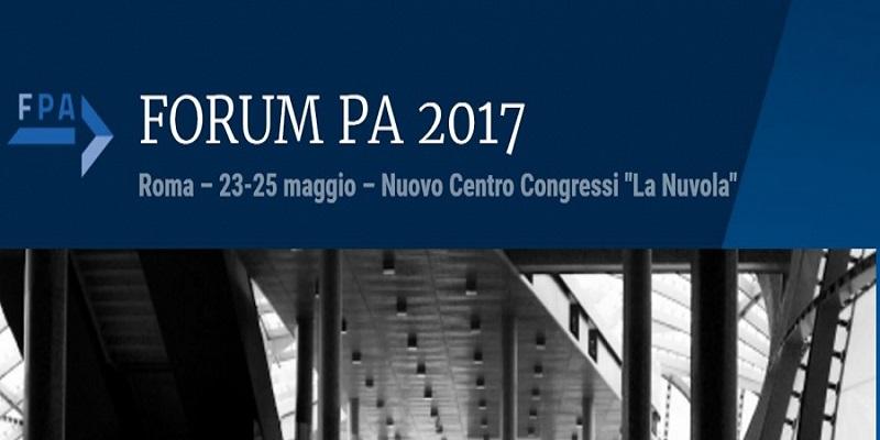 Poste Italiane al Forum PA 2017 dal 23 al 25 maggio a La Nuvola