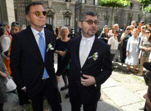 Milano, Ivan Scalfarotto si è sposato con il compagno