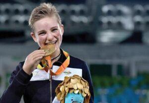 Bebe Vio, oro paralimpico, vince prova Coppa del Mondo in Olanda