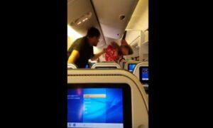 Scoppia la rissa a bordo di un aereo: arrestato un passeggero ubriaco