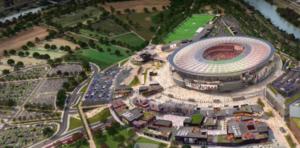 Stadio della Roma, consegnato il nuovo progetto: cubature ridotte del 50%, via le tre torri