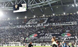 Juventus-Torino, foto striscioni - coreografie del derby della Mole allo Stadium