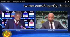 YouTube, Mihajlovic-Vialli: litigio in diretta tv per espulsione Acquah