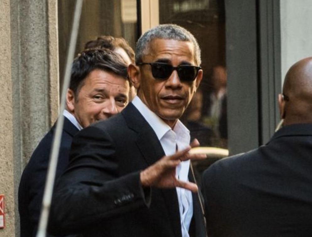 Barack Obama a Milano incontra Matteo Renzi FOTO