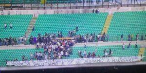 """Inter-Sassuolo, Curva Nord abbandona San Siro: """"Venduti, indegni"""""""
