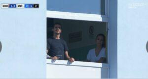 Stoian vede Crotone-Udinese da finestra ospedale (FOTO)
