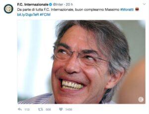 Inter, Massimo Moratti compie 72 anni: ha vinto il Triplete nel 2010