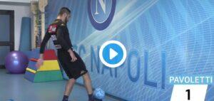 Napoli sempre più social: primo video su Dugout con Pavoletti