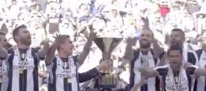 Juventus, sesto scudetto consecutivo: VIDEO con la premiazione