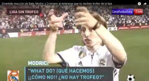 YOUTUBE Real Madrid campione senza trofeo, la faccia di Modric impazza sul web