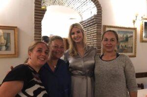 Ivanka Trump e Jared Kushner a Roma: cena con gnocchi cacio e pepe FOTO