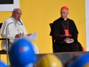 Papa Francesco a Genova: visita al Santuario della Madonna della Guardia, la più amata dai genovesi
