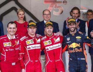 Gp Monaco, trionfo Ferrari: doppietta Vettel-Raikkonen. Non accadeva dal 2001
