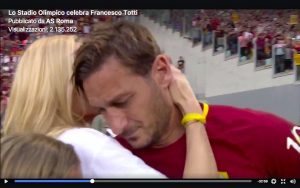 Francesco Totti, VIDEO festa addio allo Stadio Olimpico