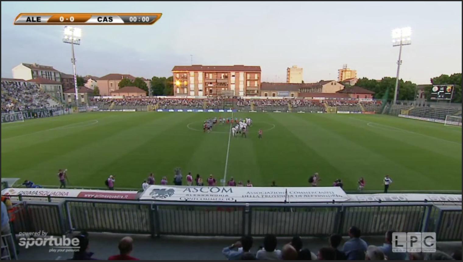 Lecce-Alessandria 1-1 Calcio legapro, quarti di finale. Domenica il ritorno