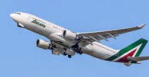 Un aereo Alitalia