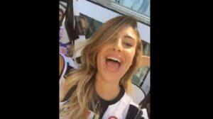 YOUTUBE Juventus, Valentina Allegri allo Stadium canta l'inno bianconero