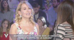 """Barbara D'Urso in lacrime a Verissimo: """"Così ho perso mia madre a 11 anni"""""""