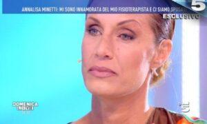 """Annalisa Minetti a Domenica Live: """"Ho rischiato di perdere mio figlio"""""""