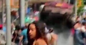 Maria Luisa Rossi Hawkins, giornalista Tgcom viva per miracolo a Times Square VIDEO