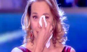 Domenica Live, Barbara D'Urso scoppia a piangere in diretta