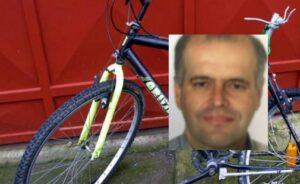 Roberto Brotto falciato e gettato nel burrone: era uscito per un giro in bici
