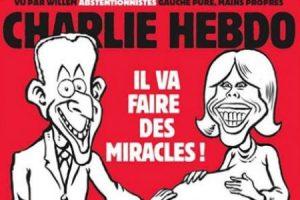 """Charlie Hebdo, vignetta ritrae Brigitte incinta: """"Macron farà miracoli..."""". Sessista e misogina?"""