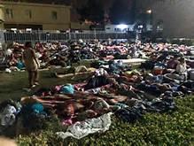 Campo profughi cristiani in Iraq