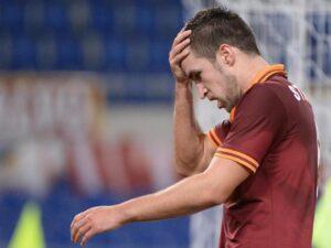 Kevin Strootman squalificato 2 turni: salterà Milan-Roma e Roma-Juve