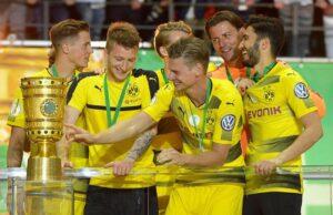 Borussia Dortmund trionfa in Coppa di Germania, 2-1 al Francoforte