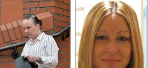 Natalie Bollen a destra e a sinistra la vittima Kelly Machin