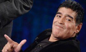Diego Armando Maradona (foto Ansa)