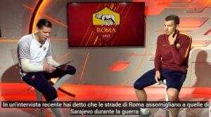"""YOUTUBE Dzeko e Szczesny: """"Per le strade di Roma buche e zero manutenzione"""""""