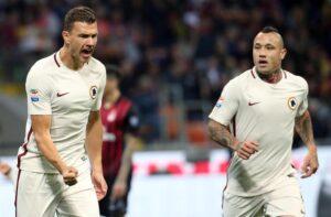 Roma, Edin Dzeko salta la Juventus. A forte rischio anche Nainggolan