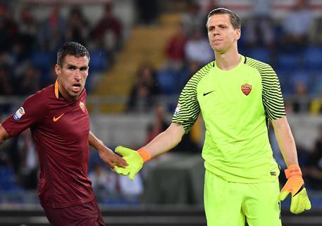 """Roma, la carica di Szczesny: """"Vinciamo le ultime quattro partite"""""""