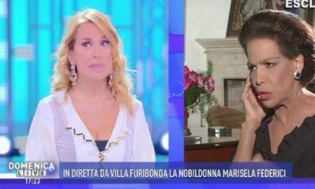 Marisela Federici e Barbara D'Urso