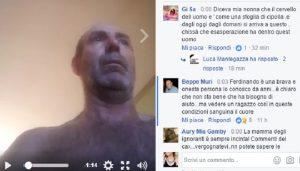Ferdinando Urzini, barricato in casa a Torino da più di un giorno...in diretta Facebook
