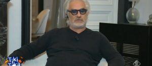 """Flavio Briatore litiga con Pardo: """"Ma perché venite sempre a rompere i m..... a me?"""" VIDEO"""