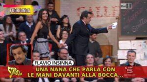 Flavio Insinna, Brio Blu sospende lo spot dopo i fuori onda a Striscia