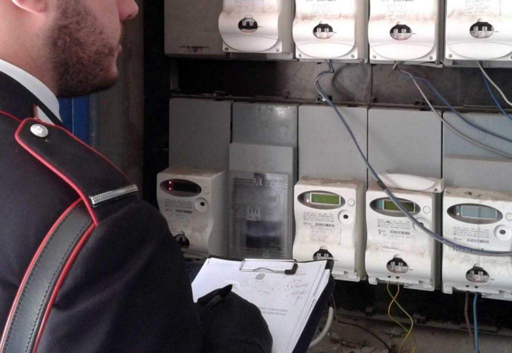 Foggia: rubata energia elettrica per oltre 100 mila euro, 20 arresti