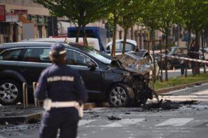 """Franko Della Torre pirata strada Milano, testimone: """"Fuggito con valigetta dopo incidente"""""""