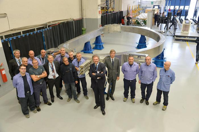 Fusione nucleare: terminato magnete dell'Asg Superconductors