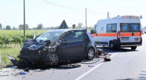Varmo, incidente stradale: due morti e quattro feriti