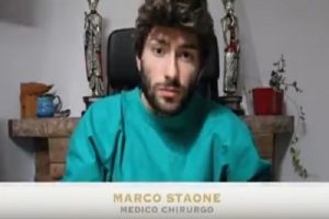 """Gian Marco Saolini dr Staone, quello dei """"vaccini con plutonio, zinco, polifosfati!"""""""