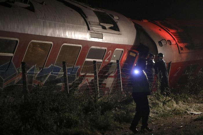 Treno deraglia in Grecia, due vittime