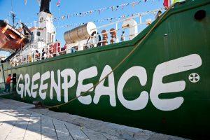 Greenpeace a rischio estinzione chiede aiuto: la causa della multinazionale del legno canadese